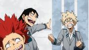 Eijiro and Hanta make fun of Katsuki