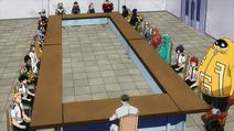 Los héroes se reúnen para una reunión