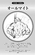 Volume 8 (Vigilantes) Column Toshinori Yagi
