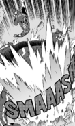 All Might smashes an Insant Villain