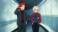 Eijiro and Katsuki get lost in the tower