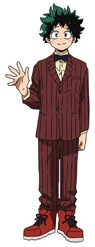 Izuku Midoriya movie profile