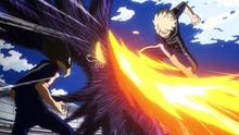 Katsuki vs Fumikage