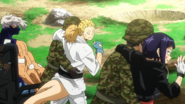 Kyoka, Mashirao and Mezo are rescue