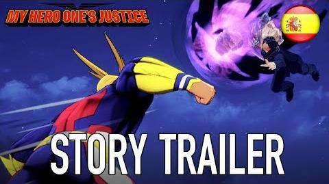 My Hero One's Justice - PS4 XB1 PC Switch - Story Trailer (Español)