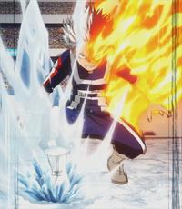 Mitad Frío Mitad Caliente Anime