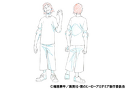 Hanta Sero Casual Shading TV Animation Design Sheet
