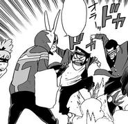 Jube and Ichimoku beat up Yotsuura
