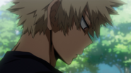 Katsuki's disappointment