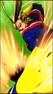 All Might Skill Character Art 3 Smash Rising