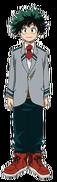 Izuku Midoriya school profile 2