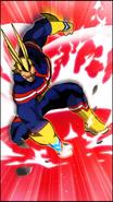 All Might Skill Character Art 5 Smash Rising