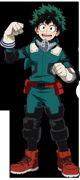 Izuku Midoriya Traje de héroe 2