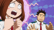 Rikido tries to calm Ochaco