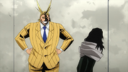 All Might and Shota Aizawa