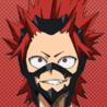 Eijiro Kirishima Anime Portrait