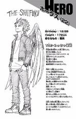 Volume 20 Keigo Takami's Profile