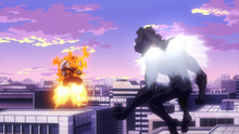 Endeavor and Hood face to face