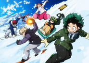 My Hero Academia 2017 Winter Poster