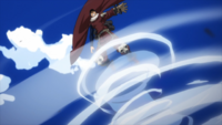 Inasa uses Whirlwind to fly
