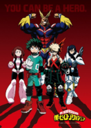 My Hero Academia Main Cast Visual
