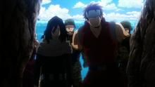 Shota Aizawa rescues his students