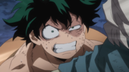 Izuku yells at Compress