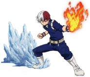 Shoto Todoroki Action