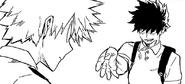 Yo greets Katsuki