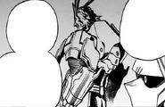 Toshinori tells Izuku about his support gear