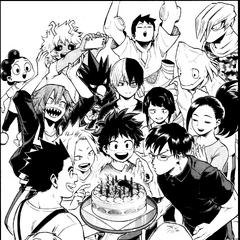 Cumpleaños de Tenya.