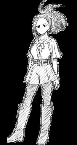 Momo Yaoyorozu civil