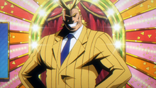 All Might working for UA