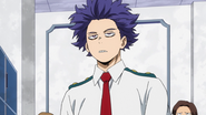 Hitoshi walks past 1-A and 1-B
