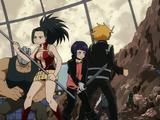 Momo Yaoyorozu, Kyoka Jiro & Denki Kaminari vs. Villains