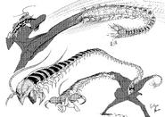Original Centipeder drawing by Oohara Tetsuya 02
