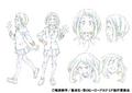 Ochaco's Anime Character Design