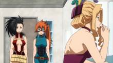 Momo and Itsuka intern with Uwabami-0