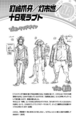 Perfiles de Soga Kugizaki, Moyuru Tochi y Raputo Tokage Vol2 (Illegals)