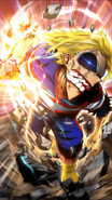 All Might Character Art 13 Smash Tap