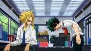 Izuku ask Toshinori to introduce him to Nighteye