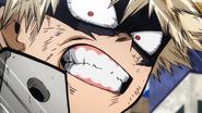 Katsuki yells at Izuku