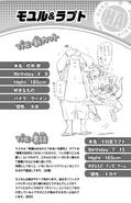 Volume 10 (Vigilantes) Moyuru Tochi and Rapt Tokage Profile