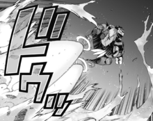Koichi using Slide and Glide to fly