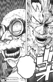 Endeavor confronts Daruma Ujiko