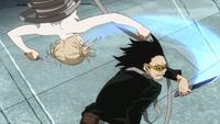 Shota tries to counter Himiko