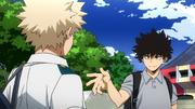 Yo Shindo greets Katsuki