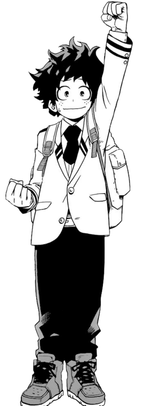 Izuku's Uniform