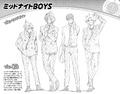 Perfil de los Midnight Boys Vol3 (Illegals)