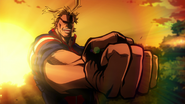 All Might fights back against fate